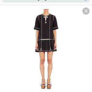 Isabel Marant embroidered mini dress